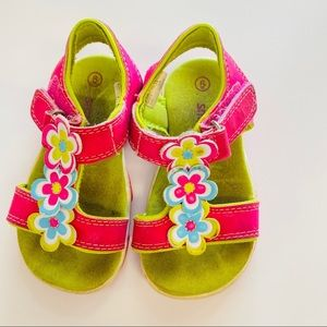 🍒$10 Add-On! Bright Pink Baby Sandals- Size 6
